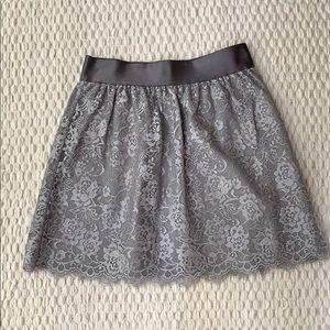 JCrew Lace Skirt